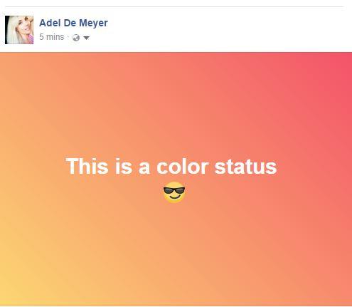 color status fb