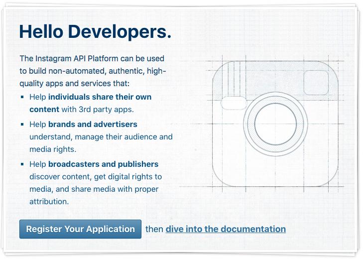 Instagram API documentation